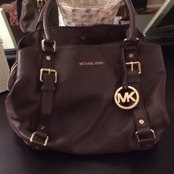 Used Michael Kors Handbags >> 99% off Michael Kors Handbags - Michael Kors Bedford rare ...
