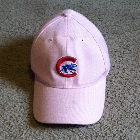2d704727295 Pink Cubs hat. M 52616cd99bfb39061e01171a. Other Jackets   Coats ...