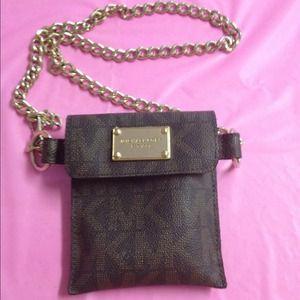 Authentic Michael Kors Chain Belt Fanny Pack