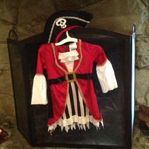 Other - Toddler girl pirate costume
