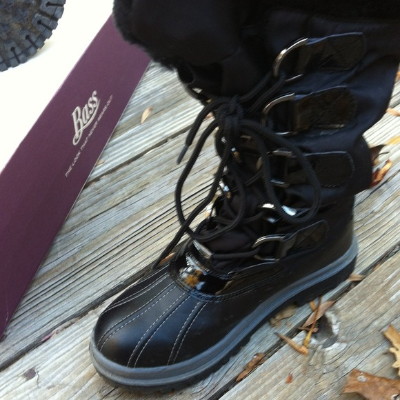 53 bass boots reduced bass black snow boots from