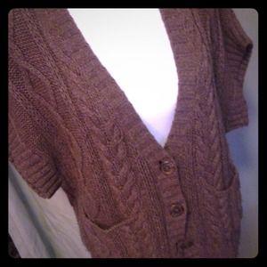 Banana Republic Sweaters - Banana Republic wool poncho cardigan sweater