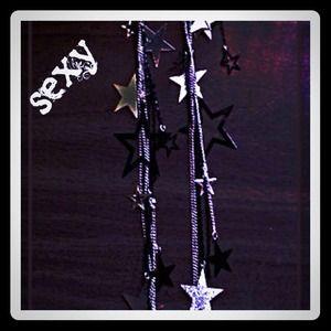 Reduced STAR EARRINGS