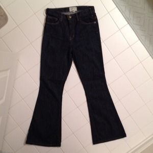 Current Elliott high-waisted flare jeans