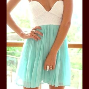 Mint Tea Dress