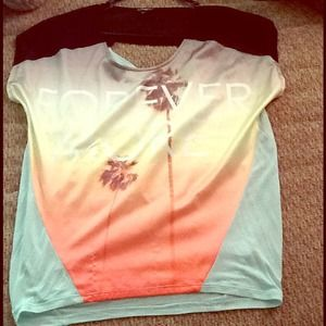 Express open back silk & soft material top!!!