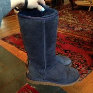 UGG Shoes - Navy Tall Blue Uggs - not sure selling