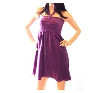 Juicy grape halter or tube top / dress