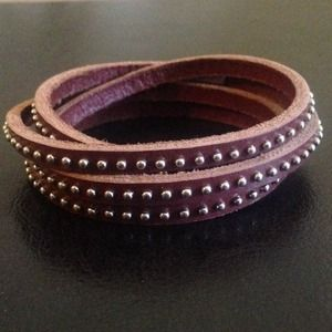 Chan Luu Inspired Leather Bracelet