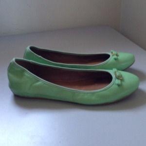 Diane von Furstenberg Shoes - PM Editor Pick 👑Diane Von Furstenberg Mint Flats 2
