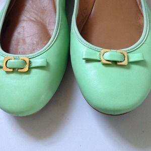 Diane von Furstenberg Shoes - PM Editor Pick 👑Diane Von Furstenberg Mint Flats 4