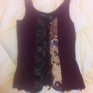 Tops - Lace up tank