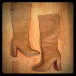 Kelsi Dagger Brown Heeled Boots