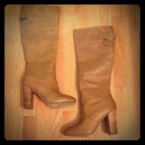 Kelsi Dagger Brown Heeled Boots