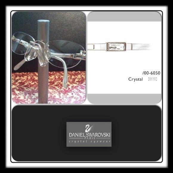 3276339e619 Daniel Swarovski by Silhouette Accessories - Daniel Swarovski rimless  eyeglass frame