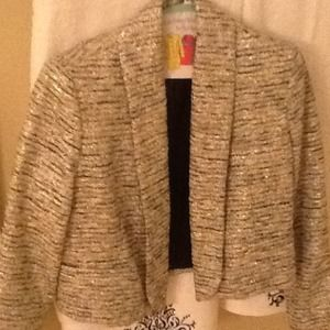 Alice and Olivia tweed jacket