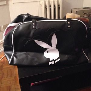 Black & White Playboy Bag