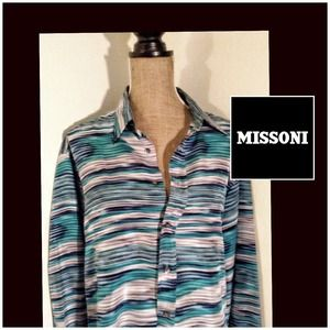 Missoni Tops - MISSONI silk blouse