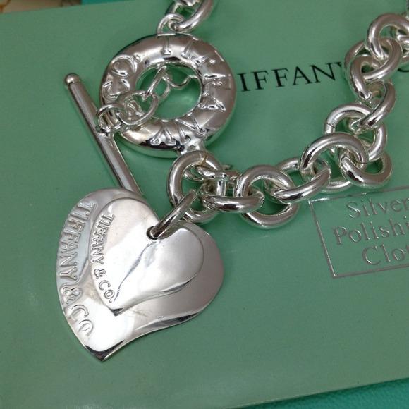 tiffany charm necklace bracelet set. Black Bedroom Furniture Sets. Home Design Ideas