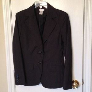 "NWOT Black Pinstripe Blazer ""IN A BUNDLE"" PRICE $8"