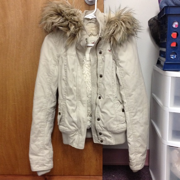 57 Off Hollister Outerwear Hollister Fur Winter Jacket