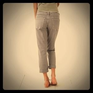 Classic cropped denim by Pilcro for Anthropologie
