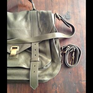 PS1 XL Military Green Proenza Schouler New 2013