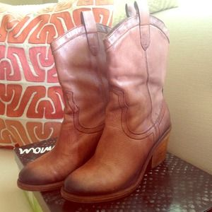Sam Edelman Short Cowboy Boot