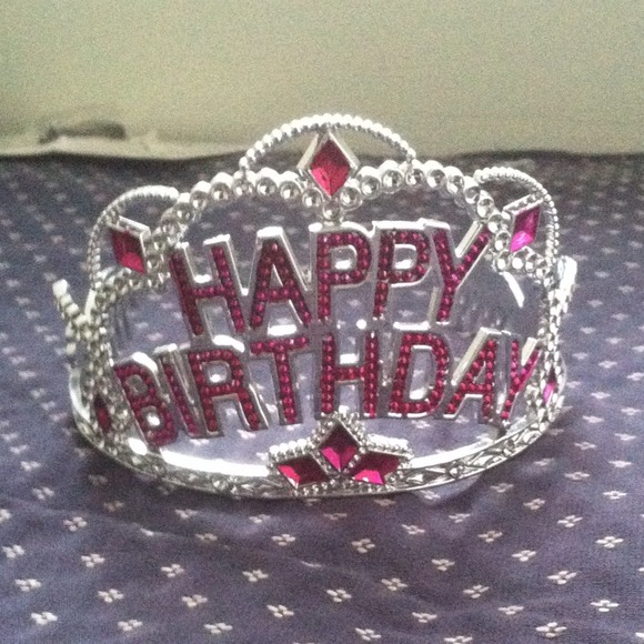 Birthday Sash And Tiara Party City