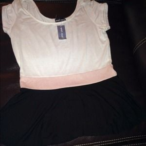 Colorblock peplum top