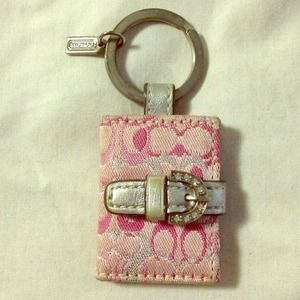 Coach Picture Keychain