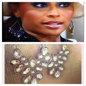 AS SEEN ON TV! RHOA Cynthia - Crystal Earrings 