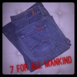 7 For All Mankind Carpenter Jeans Size 27