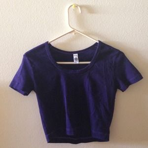 American Apparel Tops - American Apparel crop top L