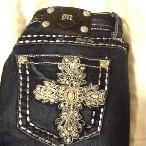 New MISS ME size 28R