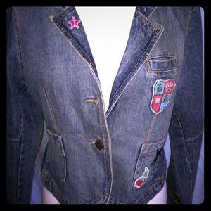 Luella By Target Denim Jacket Size L
