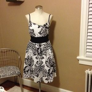 Bundled!!! Black and White Print Dress