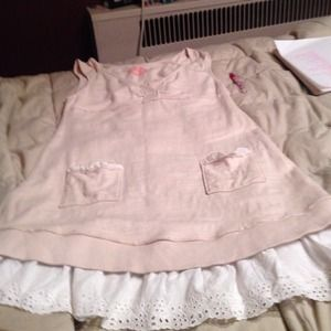 free people summer time baby doll dress