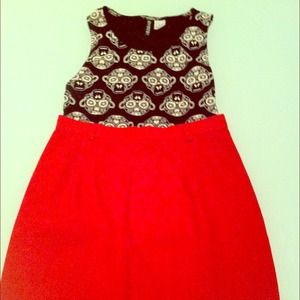 Dresses & Skirts - Eye catching red pencil skirt.