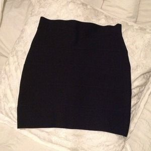 Bcbg Black Bodycon skirt