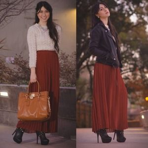 Urban Outfitters Dresses & Skirts - ✨Host pick✨Red maxi skirt