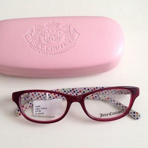 Juicy Couture Eyeglass Frames 2013 : Nayrobis Closet on Poshmark - @ohmynay