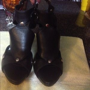 Shoes - Christian Dior Black Heels  -JUST REDUCED!!!!!
