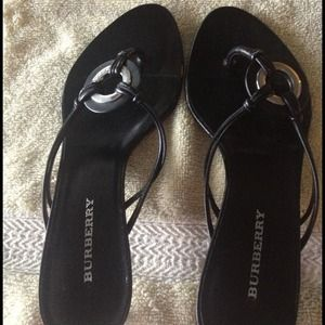 Burberry Shoes - Burberry Black Pumps- REDUCED!!!!