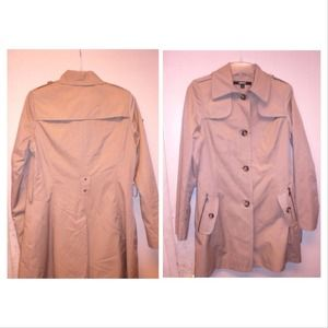 DKNY Camel Trench Coat New with tags, 2 sizes av.
