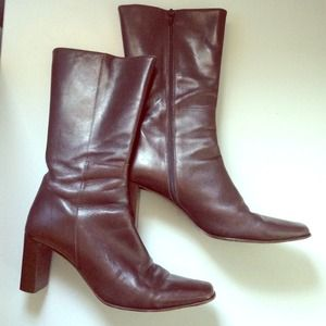 Luscious Coach Boots made in Italy 8 B