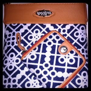 Spartina 449 Handbags - Spartina 449 cross body purse and wallet!!