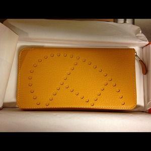 used birkin handbags - Hermes leather wallet on Poshmark