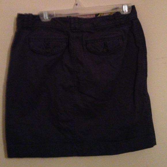navy navy blue mini skirt from s closet