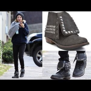 43 off penny loves kenny boots studded boots from ks